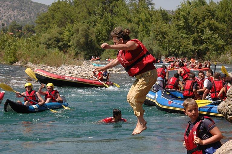 Reyyan travel rafting tour cirali for Reyyan hotel